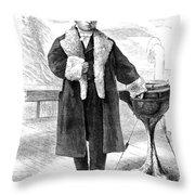 Cornelius Vanderbilt (1794-1877) Throw Pillow