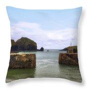 Cornwall - Mullion Cove Throw Pillow