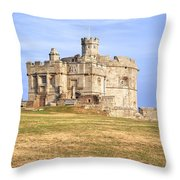 Cornwall - Pendennis Castle Throw Pillow