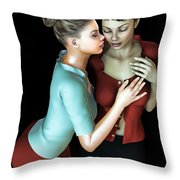 Corporate Affair Throw Pillow