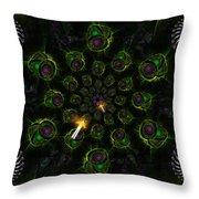 Cosmic Embryos Throw Pillow