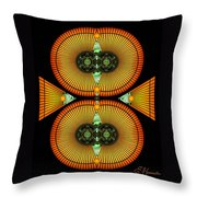 Cosmic Mitosis Throw Pillow