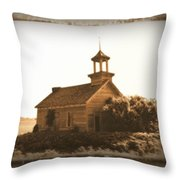 County School No. 66 Throw Pillow
