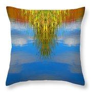 Creation 243 Throw Pillow