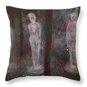 Cross The Time Throw Pillow