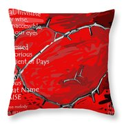 Crown Of Love Throw Pillow