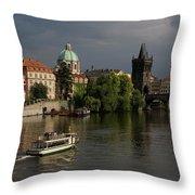 Czech Republic, Prague Throw Pillow