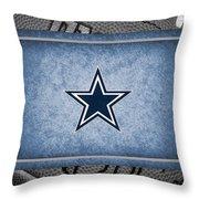 Dallas Cowboys Throw Pillow