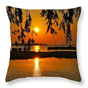 Dancing Light Throw Pillow by Frozen in Time Fine Art Photography