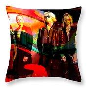 Def Leppard Throw Pillow