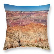 Desert View Grand Canyon National Park Throw Pillow