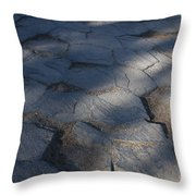 Devils Postpile National Monument Throw Pillow