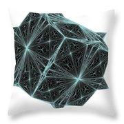Diamond Crystal  Throw Pillow