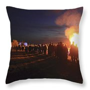 Diamond Jubilee Beacon On Epsom Downs Surrey Uk Throw Pillow