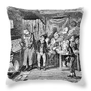 Dickens Oliver Twist Throw Pillow