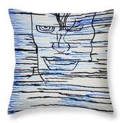 Dinka - South Sudan Throw Pillow