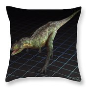 Dinosaur Aucasaurus Throw Pillow