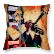 Dizzy Gillespie Collection Throw Pillow
