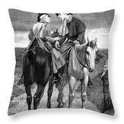 Doctor And Patient Throw Pillow
