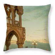 Doge's Palace Throw Pillow