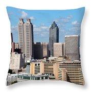 Downtown Atlanta Throw Pillow