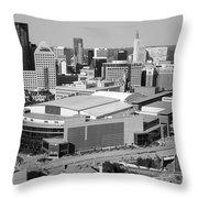 Downtown Skyline Of St. Paul Minnesota Throw Pillow