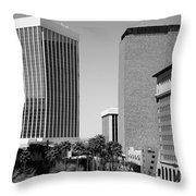 Downtown Tucson Az Throw Pillow