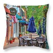 Downtown Worthington Throw Pillow