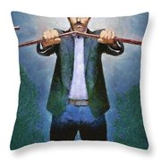 Dr House Throw Pillow