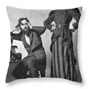 Du Maurier: Trilby, 1895 Throw Pillow