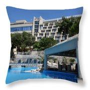 Dubrovnik Palace Throw Pillow