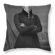 Duke Of Wellington (1769-1852) Throw Pillow