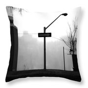 East Wind  Throw Pillow