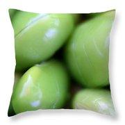 Edamames Throw Pillow