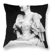 Edith K Throw Pillow