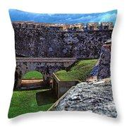El Morro Fortress Old San Juan Throw Pillow