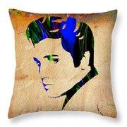 Elvis Presly Wall Art Throw Pillow