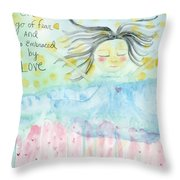 Embraced By Love Throw Pillow