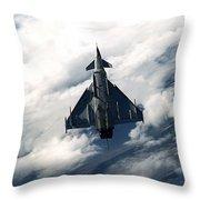 Eurofighter  Throw Pillow