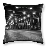 Evening In The City Throw Pillow