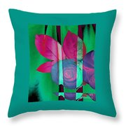 Exotic Throw Pillow
