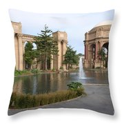 Exploratorium San Francisco Throw Pillow