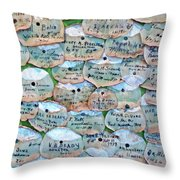 Extinction Wall Throw Pillow