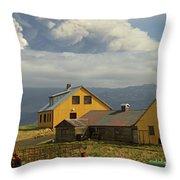 Eyjafjallaj�kull Ash Cloud, Iceland Throw Pillow