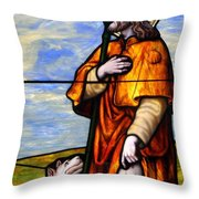Faithful Companion Throw Pillow