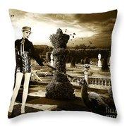 Fashion In Heaven Throw Pillow