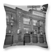 Fenway Park - Best Of Boston Throw Pillow