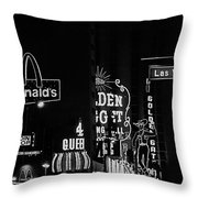 Film Noir Kim Novak Fred Macmurray Pushover 1954 Casino Center Las Vegas 1979 Throw Pillow
