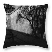 Film Noir Kim Novak Vertigo 1958 Graveyard Tumacacori Mission Tumacacori Arizona 1979-2008 Throw Pillow