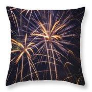 Fireworks Celebration  Throw Pillow